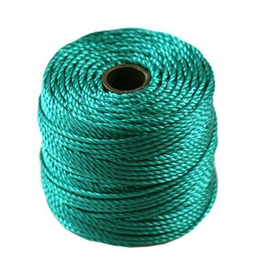 S-lon heavy macrame cord tex 400 teal