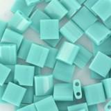 Miyuki tila opaque turquoise green 5 mm #TL-412