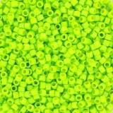 Miyuki Delica beads 11/0 duracoat opaque dyed kiwi DB2121