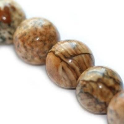jaspis krajobrazowy 10 mm kamień naturalny
