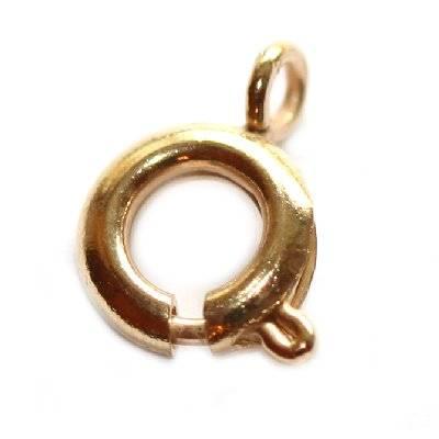 federing 6 mm goud