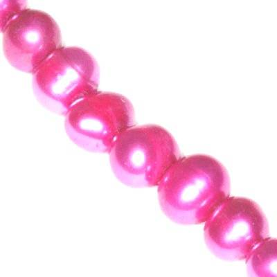 freshwater pearls 5-6 mm pink