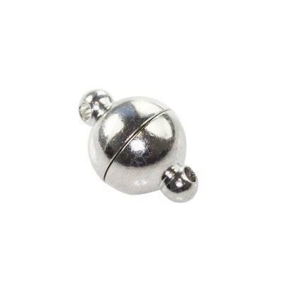 zapięcie magnetyczne kula 8 x 14 mm półfabrykaty do wyrobu biżuterii