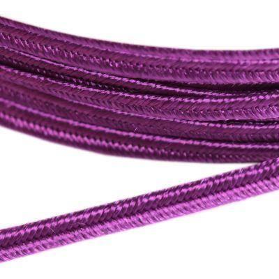 PEGA A4602 corde à soutache pourpre 3 / 0,9 mm