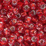 Toho round silver-lined ruby 3 mm TR-08-25C