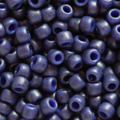 Toho beads round semi glazed - navy blue 2.2 mm TR-11-2607F