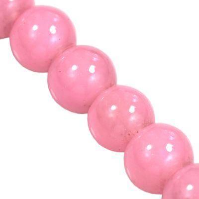 Perlen Candy Jade pink 4 mm
