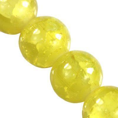 perles crépitement Jade bananes 12 mm