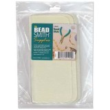 Beadsmith bead mat 2 pc 8 x 8 cream color