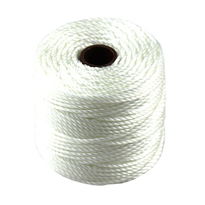 nici S-LON Macrame Tex 400 0.9 mm white - nić do makramy