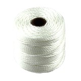 S-lon heavy macrame cord tex 400 white