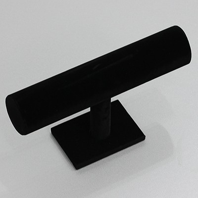jewelery stand single black 24 x 13 cm, ⌀ 5 cm