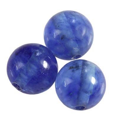 Pietra blu quarzo di muschio 6 mm / Pitere dure
