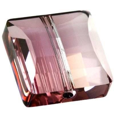 Swarovski stairway beads crystal antique pink 14 mm
