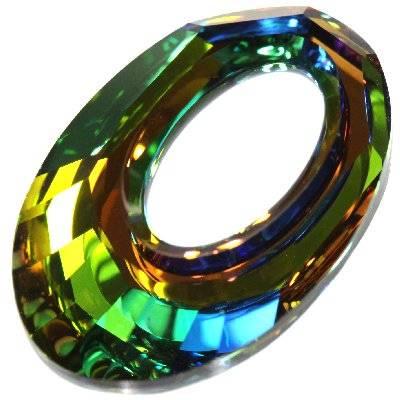 Swarovski helios pendants crystal vitrail medium p 20 mm