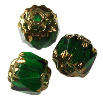bols beads dark green 6 mm