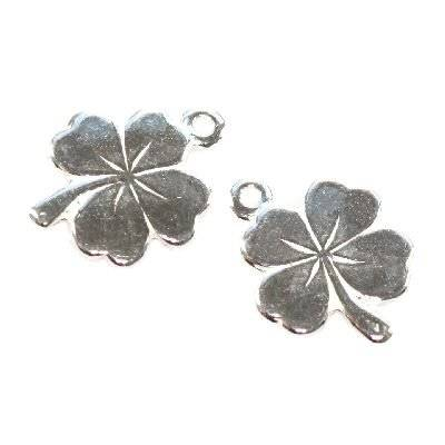 sterling silver 925 pendant clover