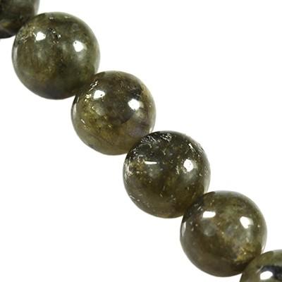 kule labradoryt jakość A 4 mm kamień półszlachetny naturalny