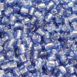 glass seed beads dark blue 2 mm