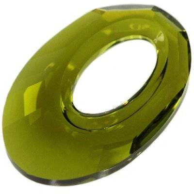 Swarovski helios pendants olivine 20 mm