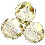 Swarovski round beads crystal luminous green 6 mm
