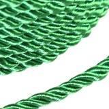 šnúra krútená zelená 4 mm