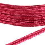 PEGA A7401 corde à soutache rose foncé 3 / 0,9 mm