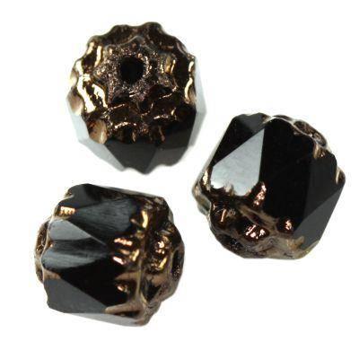 bols beads black 6 mm