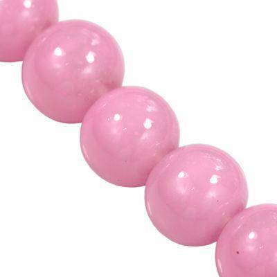 Candy jade perler pink 12 mm