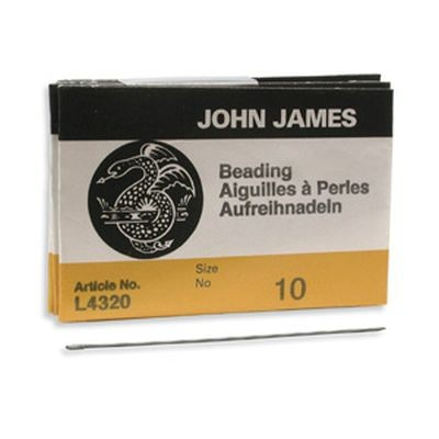 John James needles beading #10