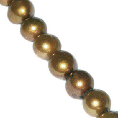 freshwater pearls 5-6 mm gold