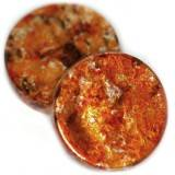 coins fancy plastic copper 18 mm