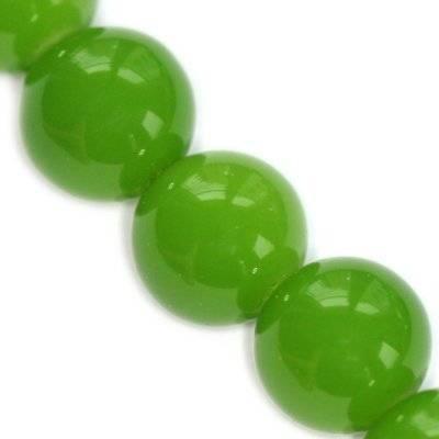 Perline rivestite allo smeraldo 16 mm