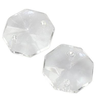 rivolis taillés transparentes 18 x 18 mm