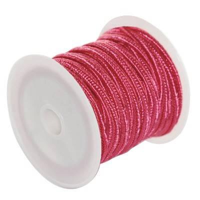 corde à soutache amarante 2.5 mm