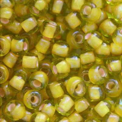 Toho beads round inside-color jonquil/apricot lined 3 mm TR-08-302