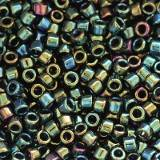 koraliki Toho treasure metallic iris green/brown 1,8 mm TT-01-84