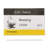 John James needles beading #11