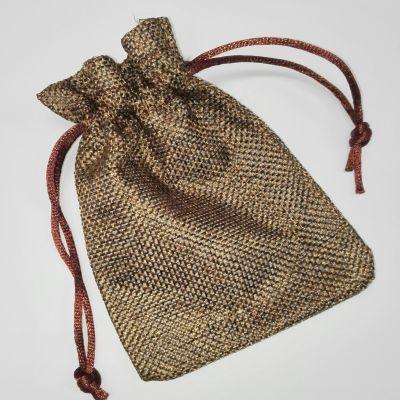 bag brown 9 x 12 cm