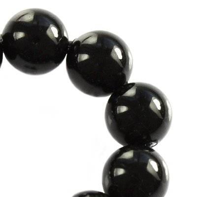 Swarovski crystal mystic black pearl 6 mm