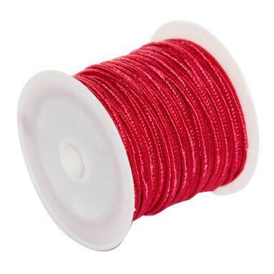 corde à soutache carmin 2.5 mm