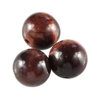round red tiger eye A grade 8 mm