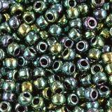 Toho beads round higher-metallic june bug 2.2 mm TR-11-506