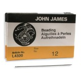 John James needles beading #12