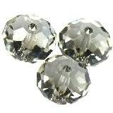 Swarovski briolette beads black diamond 8 mm
