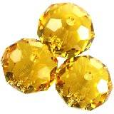 Swarovski briolette beads sunflower 8 mm