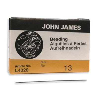 John James needles beading #13