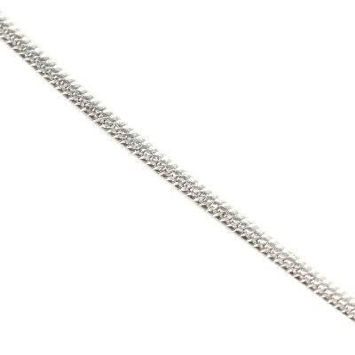 srebro 925 łańcuszek wężyk 0,75 mm