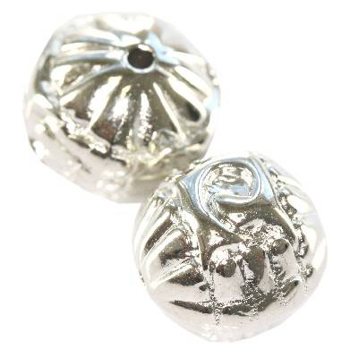 sids silver plastic beads 16 mm