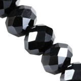 CrystaLine rondelle 6 x 8 mm / crystal beads